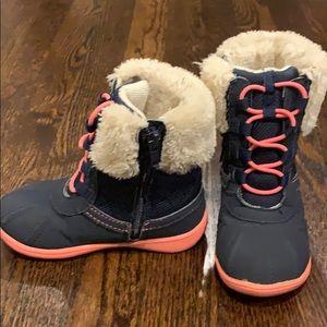Carter's zipper boots. Size 9 toddler